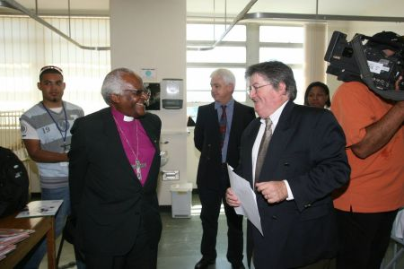 Archbishop Tutu and Lins